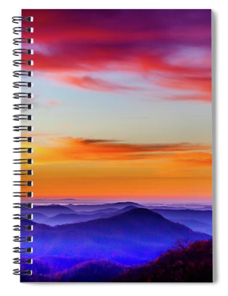 Fall On Your Knees Spiral Notebook