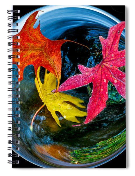Fall Takes Over Spiral Notebook