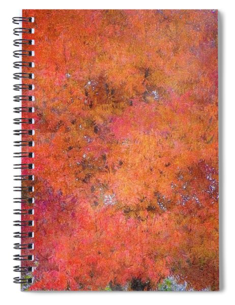 Fall Tree Tapestry Spiral Notebook