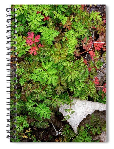 Fallen #2 Spiral Notebook