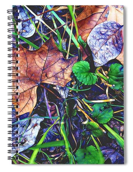 Fallen #3 Spiral Notebook