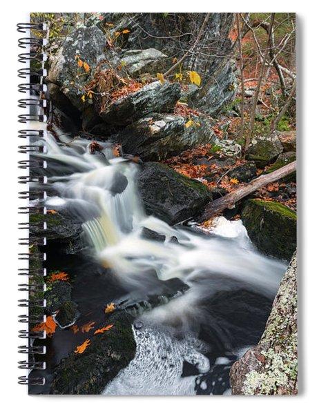 Fallen In Danforth Falls Spiral Notebook