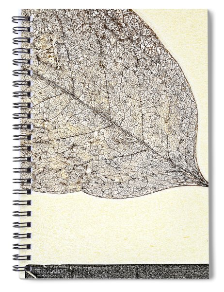 Fallen Leaf One Of Two Spiral Notebook