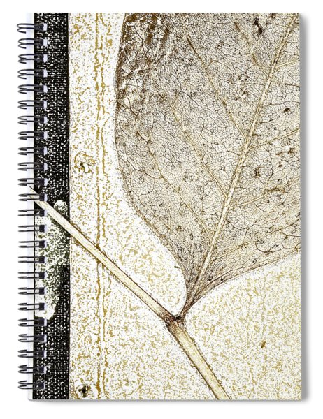 Fallen Leaf Two Of Two Spiral Notebook