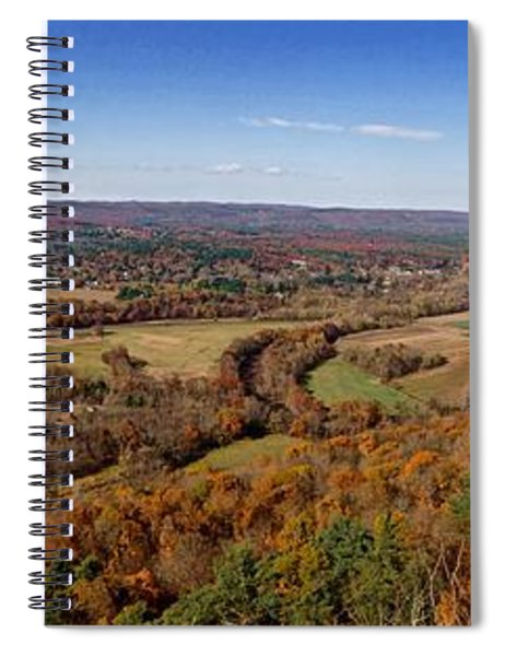 New England Spiral Notebook