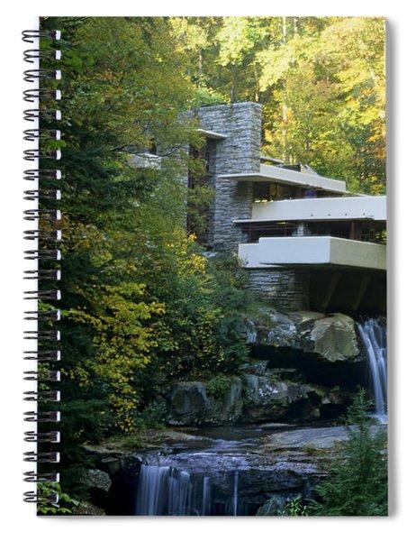 Fallingwater Spiral Notebook