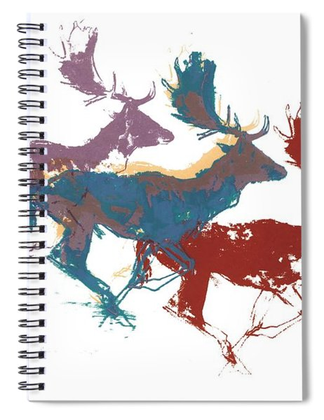 Fallow Bucks Spiral Notebook