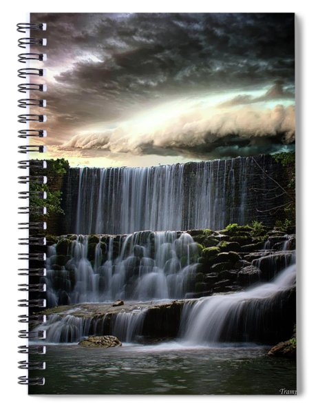 Falls At Mirror Lake Spiral Notebook