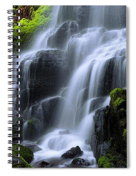 Falls Spiral Notebook