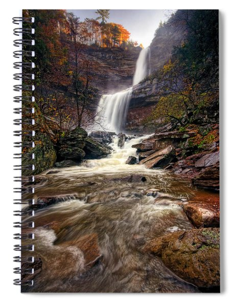 Falls Fury Spiral Notebook