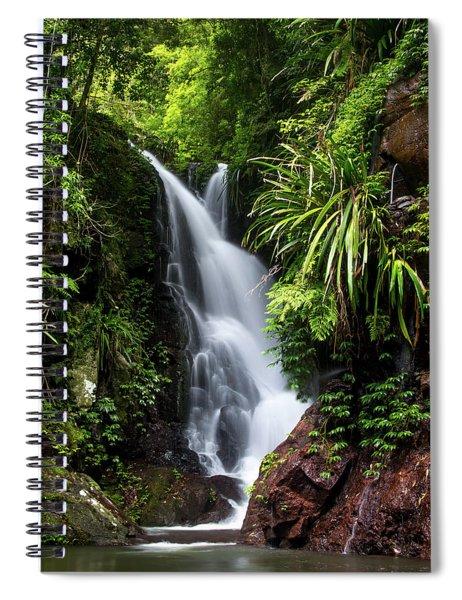 Falls Of Elabana  Spiral Notebook