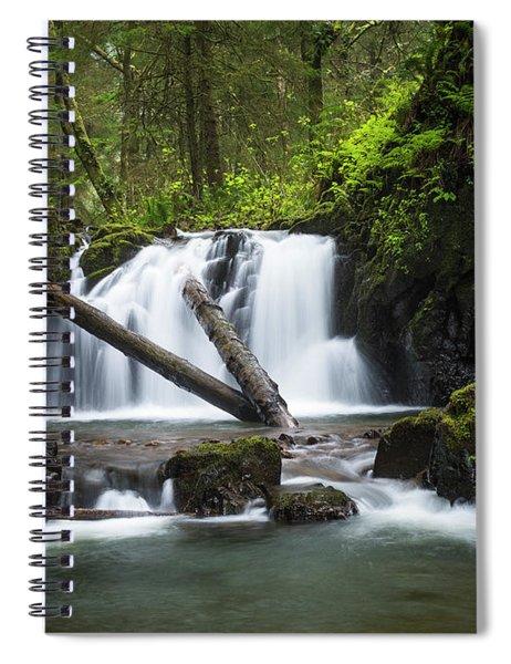 Falls On Canyon Creek Spiral Notebook