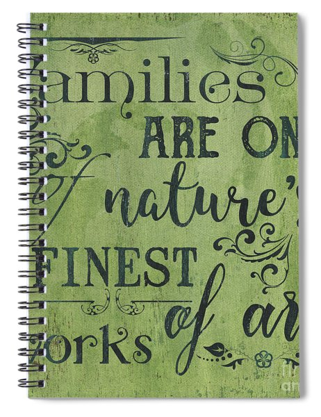 Families Are... Spiral Notebook