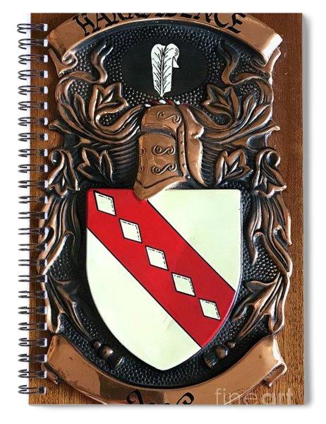 Family Crest Spiral Notebook