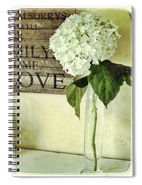 Family, Home, Love Spiral Notebook