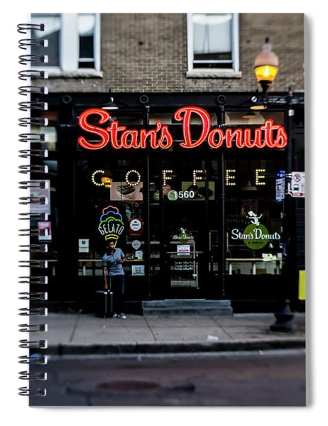 Famous Chicago Donut Shop Spiral Notebook
