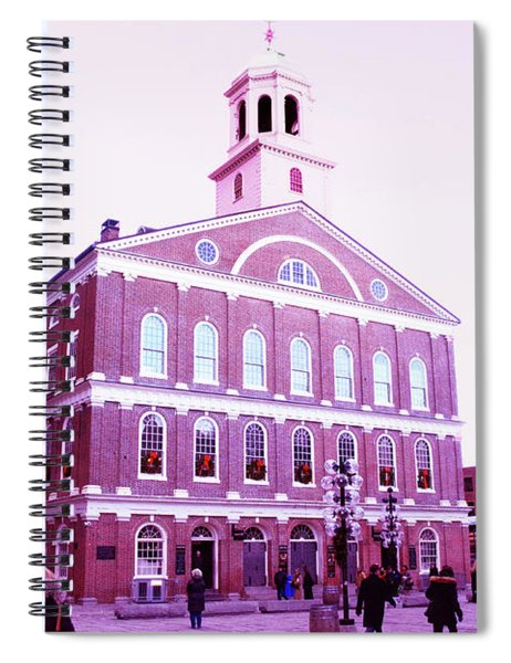Faneuil Hall Spiral Notebook