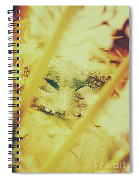 Fanning The Drama Spiral Notebook