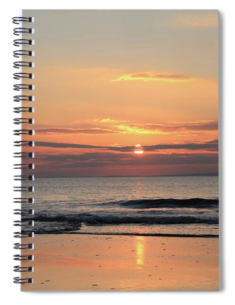 Fanore Sunset 3 Spiral Notebook