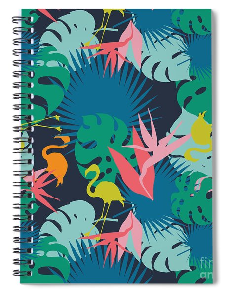 Fantastic Summer  Spiral Notebook