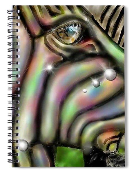 Fantastic Zebra Spiral Notebook