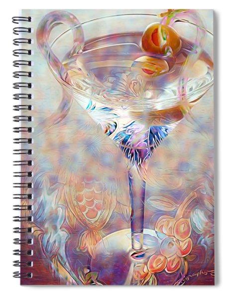 Fantasy Cocktail  Spiral Notebook