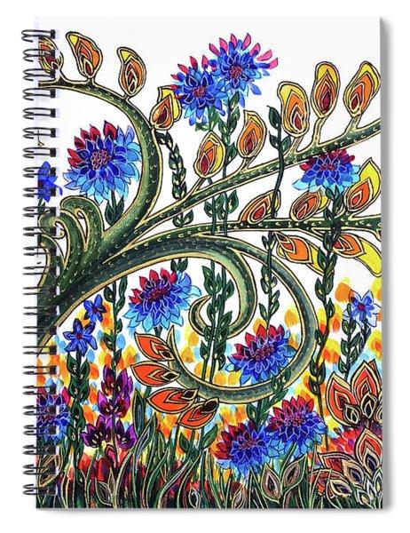 Fantasy Garden Spiral Notebook