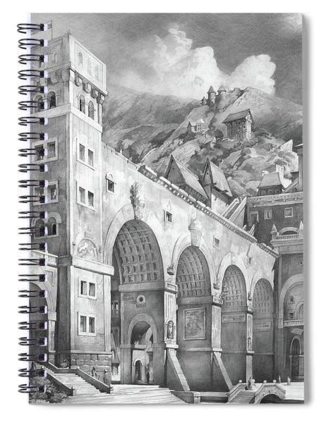 Fantasy Mmxvii Spiral Notebook