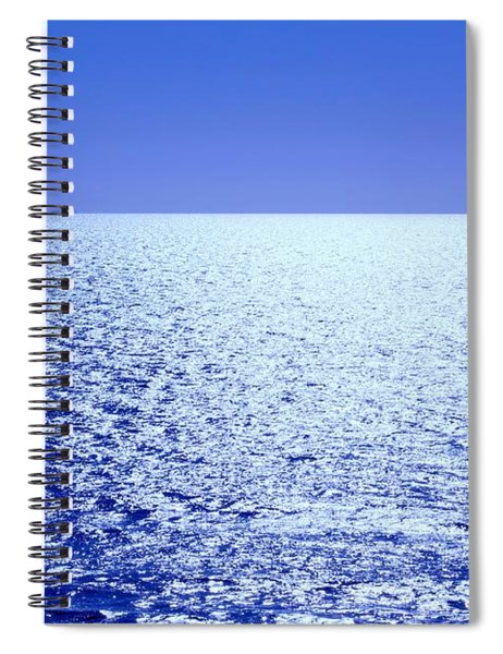 Spiral Notebook featuring the photograph Far And Away by Alison Frank