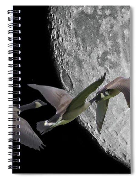 Far Off-course Spiral Notebook