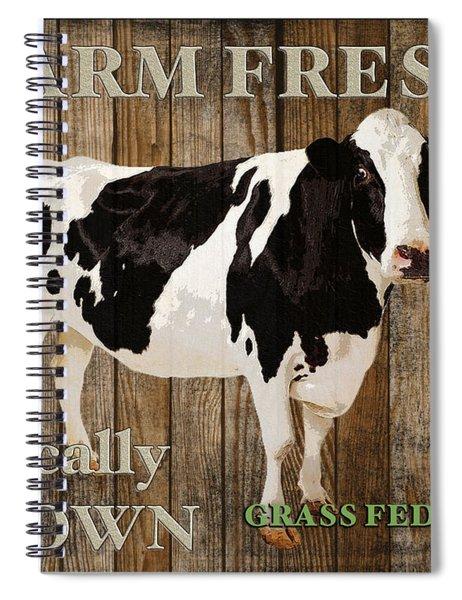 Farm Fresh-jp2128 Spiral Notebook