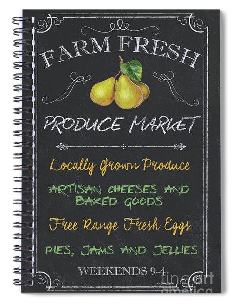 Farm Fresh Produce Spiral Notebook