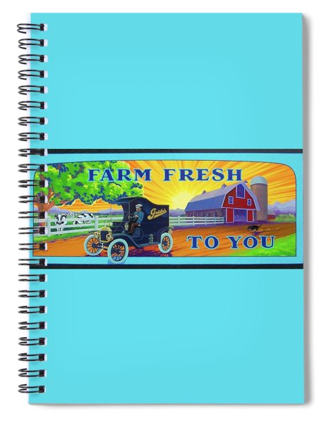 Farm Fresh To You  Spiral Notebook