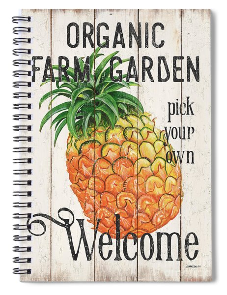 Farm Garden 1 Spiral Notebook
