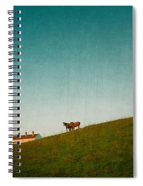 Farm Horses Spiral Notebook