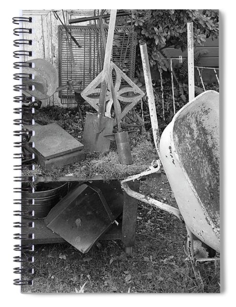 Farm House Tools 2 Spiral Notebook