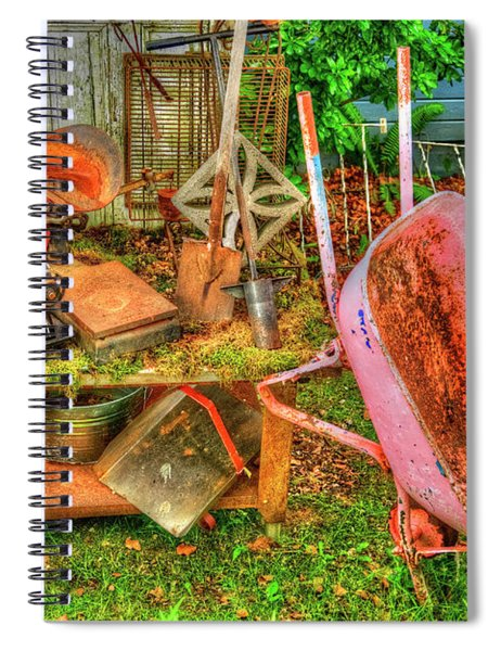 Farm House Tools 3 Spiral Notebook