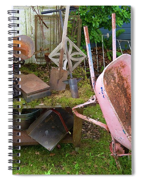 Farm House Tools Spiral Notebook