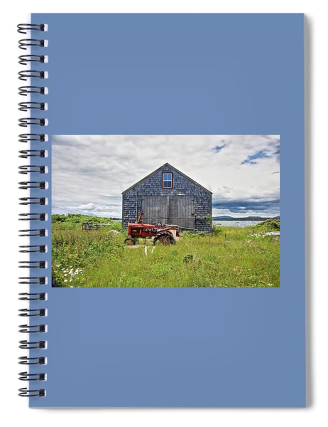 Farm On The Sea  Spiral Notebook