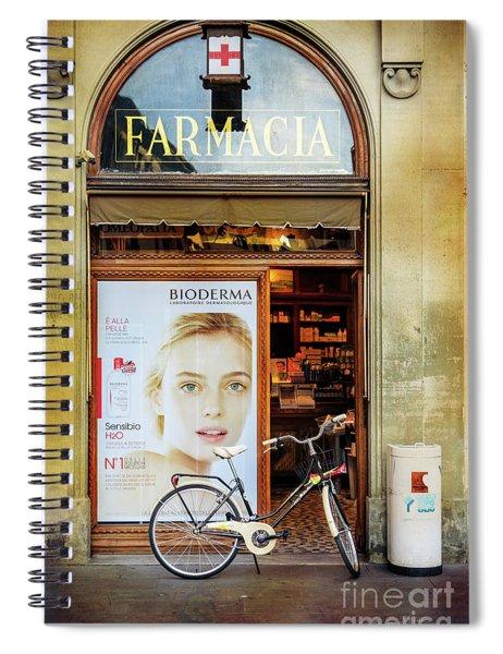 Farmacia Bioderma Bicycle Spiral Notebook