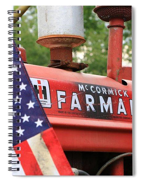 Farmall 2 Spiral Notebook