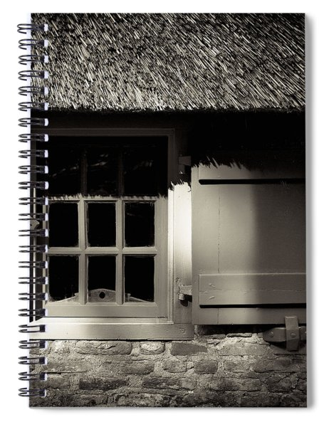 Farmhouse Window Spiral Notebook