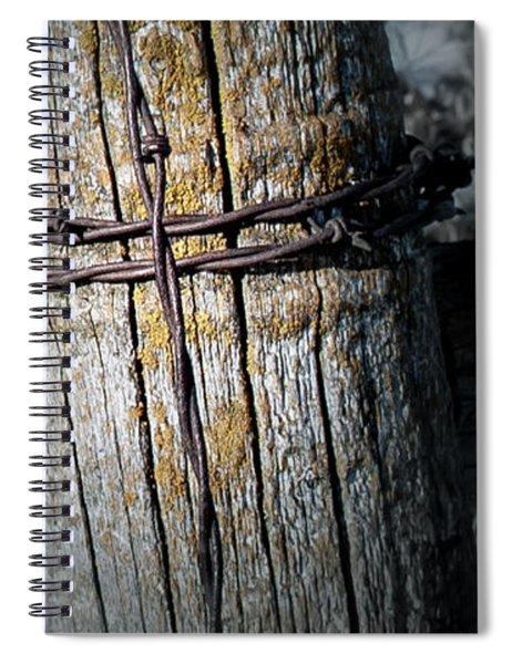 Farming Cross Spiral Notebook