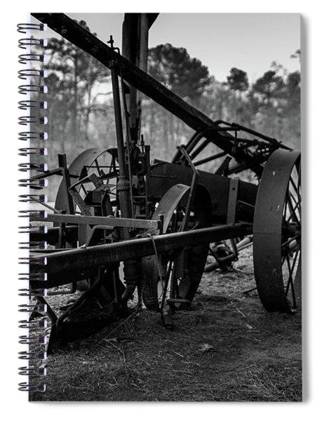 Spiral Notebook featuring the photograph Farming Equipment by Doug Camara