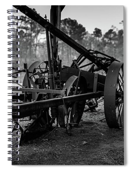 Farming Equipment Spiral Notebook