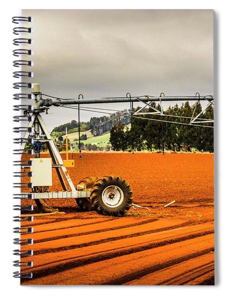 Farming Field Equipment Spiral Notebook