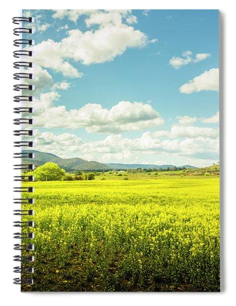 Farmland Colour Spiral Notebook