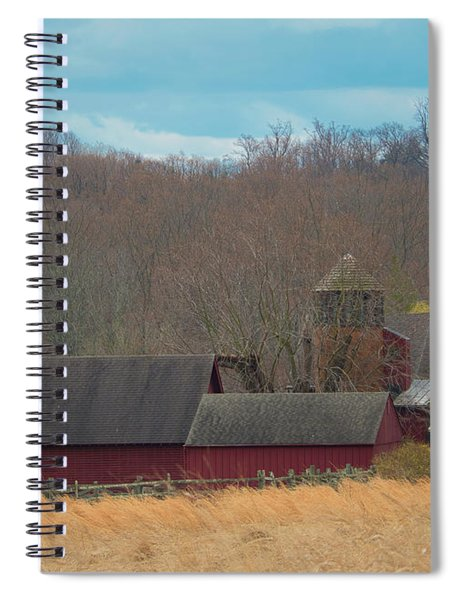 Farmland Spiral Notebook