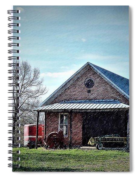 Farmland Spring Spiral Notebook