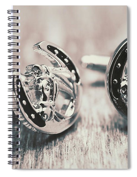 Fashion Links To The Melbourne Cup Spiral Notebook